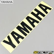Origen de la etiqueta Yamaha negro