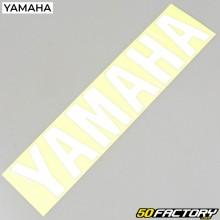 Autocollant origine Yamaha blanc