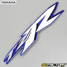 Origen de la etiqueta Yamaha TZR azul