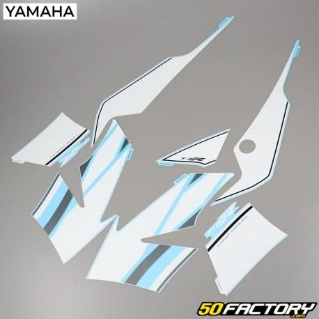 Kit decorativo Yamaha TZR 50 (de 2003) blanco y azul