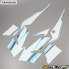 Kit de decoracion Yamaha TZR 50 (de 2003) blanco y azul