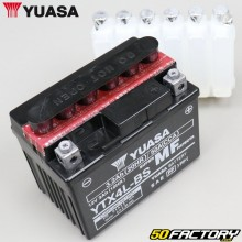 Battery Yuasa YTX4L-BS 12V 3Ah acid motorcycle, scooter Derbi Senda,  Gilera Smt, Rieju...