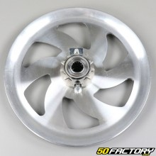 Aluminum drive pulley complete with sprocket 11 teeth Peugeot 103 SP, Vogue...
