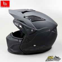 Helmet trial (modular jet) MT Helmets Streetmatt black fighter size XL