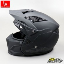 Helmet trial (modular jet) MT Helmets Streetmatt black fighter size M