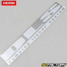 Autocollant origine de bras oscillant Derbi Senda DRD (2004 à 2010) DLS