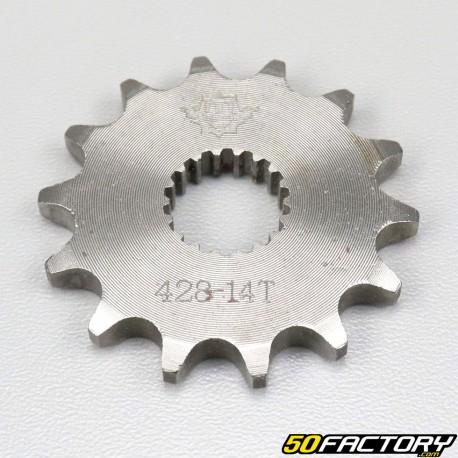 Pignon 14 dents 428 Suzuki GN 125