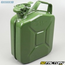 Jerrican carburant en métal anticorrosion Silverline 5L