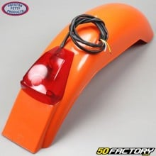 Garde boue arrière avec feu Preston Petty Products Enduro vintage orange