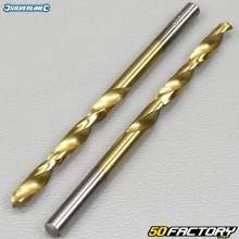Mèches en acier 4,5mm HSS titané Silverline (lot de 2)