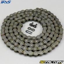 Chaîne 415 renforcée 112 maillons cyclomoteur Iris TX grise