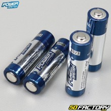 Piles alcalines Super LR6 type AA Power master (lot de 4)
