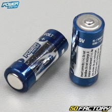 Piles alcalines 1,5V Super LR1 Power master (lot de 2)