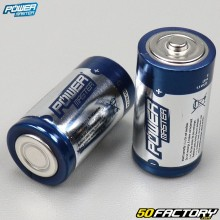 Batterie alcaline Super LR14 tipo C Power master (lotto di 2)
