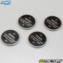 Pilha de botão de lítio CR2025 Power mestre (lote de 4)