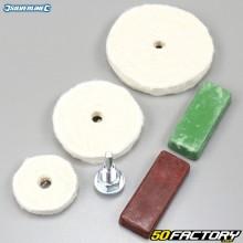 Silverline Accesorios para pulido (piezas 6)
