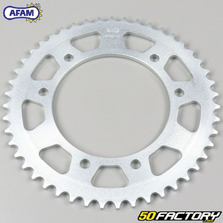 Rear sprocket 47 teeth steel 420 Derbi, Gas Gas, Gilera, MBK 50 ... Afam