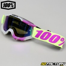 Goggles 100% Accuri Tootaloo with blue mirror screen