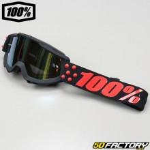 Goggles 100% Accuri Gernica with gold mirror screen