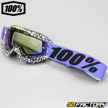 100% Accuri Brentwood Maske mit blauem Spiegelschirm