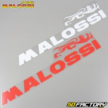 Stickers Malossi 600x140mm white and red