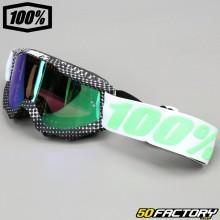 100% Accuri Maschera degna di nota con schermo a specchio verde
