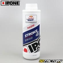 Huile moteur 4T 5W40 Ipone Stroke 4 100% synthèse 1L