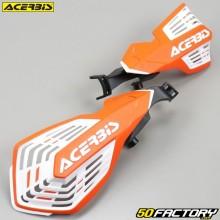 Handschutz  Acerbis K-Future orange und weiß