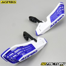 Handguards Acerbis X-Future white and blue