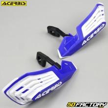 Handguards Acerbis X-Future blue and white