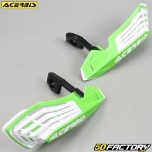 Carenados Protectores de manos Acerbis X-Future verde y blanco