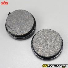 Pastillas de freno delanteras Yamaha RD50 y FS1 SBS Cerámica