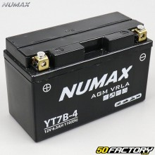 Batería YT7B-4 12V 6Ah gel Suzuki DR-Z Sherco SE, Kawasaki KLX ... Numax premium