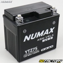 Battery YTZ7S 12V 6Ah acid without maintenance Honda CBR,  Varadero,  Aprilia Atlantic… Numax Premium