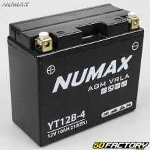 Batería de gel YT12B-4 12V 10AH MBK Evolis,  Yamaha Tmax... Numax premium