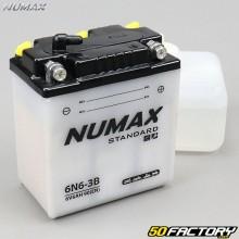 Batterie Numax Standard 6N6-3B 6V 6Ah acide Honda, Yamaha 125…