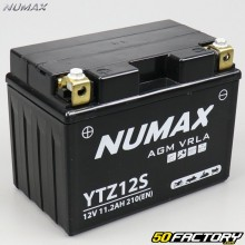 Batería YTZ12S 12V 11,2Ah gel Honda VFR, Yamaha T-Max, XT ... Numax premium