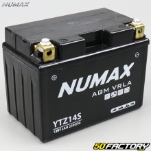 Maintenance-free acid battery YTZ14S 12V 11,2Ah KTM RC8, Duke… Numax Premium