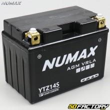 Batterie YTZ14S 12V 11,2Ah gel KTM RC8, Duke… Numax premium