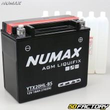 YTX20HL-BS 12V 18Ah acid battery Kymco MXU, Polaris Sportsman, Yamaha Grizzly… Numax premium