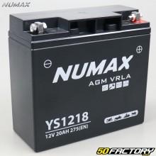 Batterie YS1218 12V 20Ah gel BMW R, K75… Numax premium