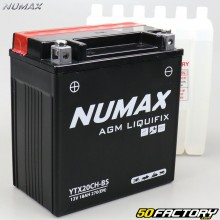Batterie YTX20CH-BS 12V 18Ah acide Suzuki LT-A, VZR, VZ… Numax premium