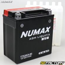 Batería ácida YTX20CH-BS 12V 18Ah Suzuki LT-A, VZR, VZ ... Numax premium