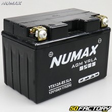 Battery YT12A-BS 12V 10Ah acid maintenance free Kawasaki J, Kymco Downtown, People, Suzuki Burgman,  GSX-R… Numax Premium