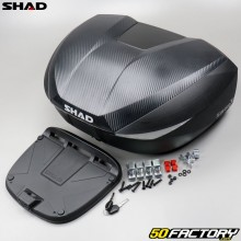Top case modular 46, 52 and 58 liters motorcycle and universal scooter Shad