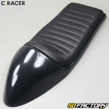 Silla de cafe racer universal C-Racer Negra