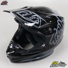 Casco cross Troy Lee Designs GP Silhouette negro y gris talla M