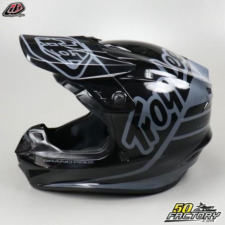Casque cross Troy Lee Designs GP Silhouette noir et gris taille L