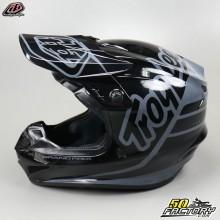 Helmet cross Troy Lee Designs GP Silhouette black and gray size L