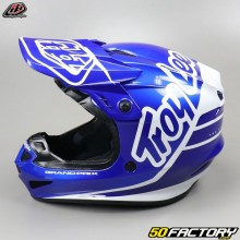 Helmet cross Troy Lee Designs GP Silhouette navy and white